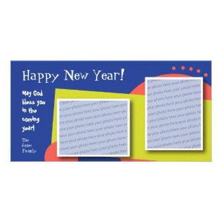 Customizable Happy New Year Photo Card