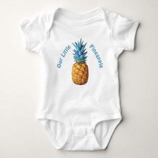 Customizable Hawaiian Pineapple Baby Clothes Baby Bodysuit