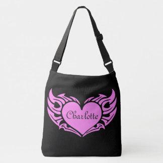 Customizable Heart Crossbody Bag