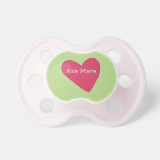 Customizable Heart Pacifier
