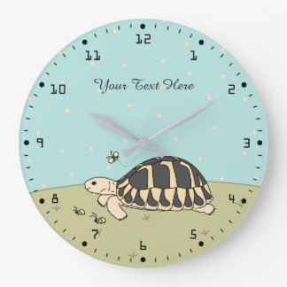 Customizable Hermann's Tortoise Clock