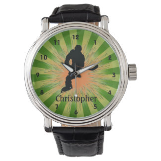 Customizable Hockey Design Watch