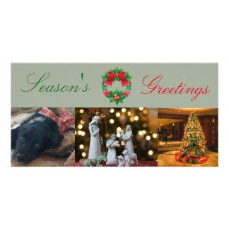 Customizable Holiday Christmas Xmas card Photo Cards