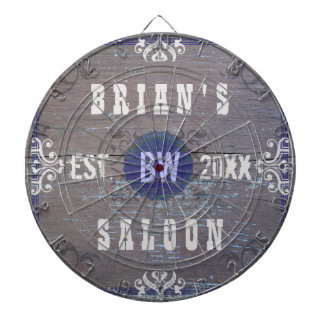 Customizable Home Bar Beer Saloon Dartboard With Darts