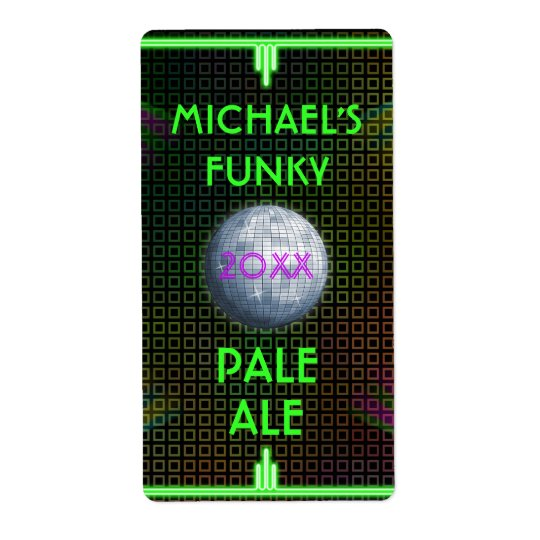 Customizable Home Beer Brewer 70's Disco Ball