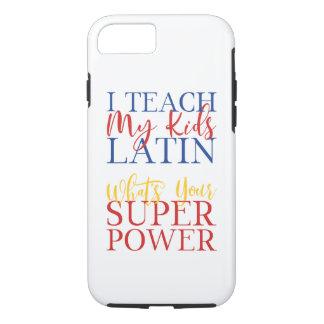 CUSTOMIZABLE Homeschool Latin Superhero Case-Mate iPhone Case