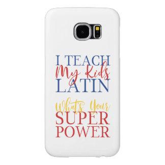 CUSTOMIZABLE Homeschool Latin Superhero Samsung Galaxy S6 Case