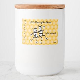 Customizable honey jar label