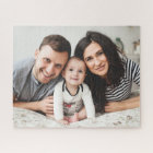 Customizable Horizontal Family Photo Puzzle