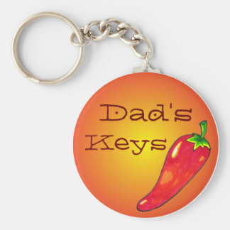 Customizable Hot Pepper Keychain
