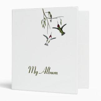 Customizable Hummingbird Binder Album