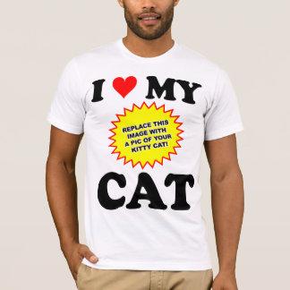 CUSTOMIZABLE I Love My Cat T-Shirt