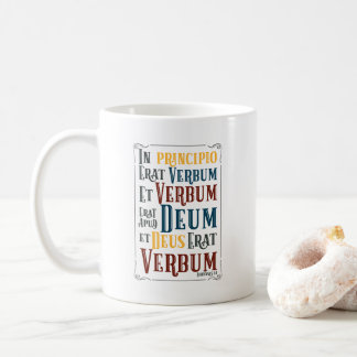 CUSTOMIZABLE In Principio Erat Verbum Coffee Mug