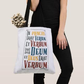 CUSTOMIZABLE In Principio Erat Verbum Tote Bag