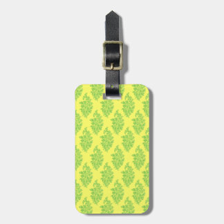 Customizable India Block Print Luggage Tag