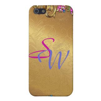 Customizable Initials 4  iPhone 5 Cases