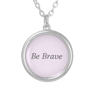 Customizable Intention Silver Plated Necklace
