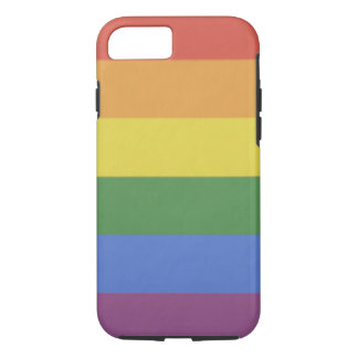 Customizable iPhone Tough Case rainbow