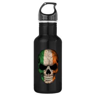 Customizable Irish Flag Skull 532 Ml Water Bottle