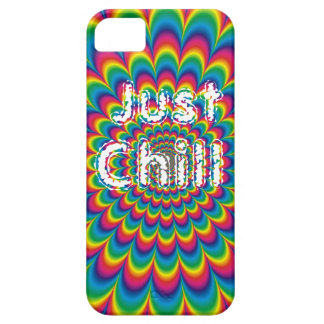 Customizable Just Chill Psych iPhone case Case For The iPhone 5