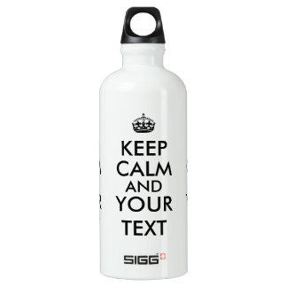 Customizable Keep Calm Design Maker