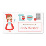 Customizable Kitchen Labels Personalized Shipping Labels