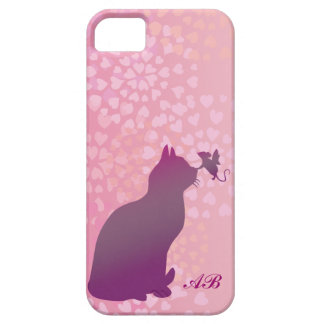 Customizable: Kitty and fairy mouse iPhone 5 Cases