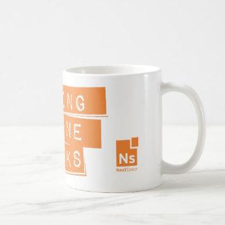Customizable Large Mug with NextSpace logo