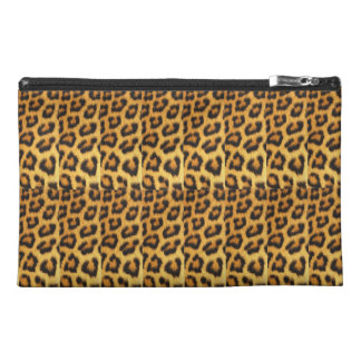 Customizable Leopard Print Cosmetic Bag/Clutch Travel Accessory Bag