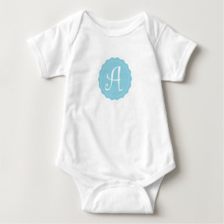 "Customizable Letter ""A"" Baby Bodysuit"