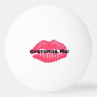 Customizable Lip Ping Pong Ball Beer Pong Lipstick