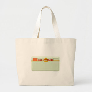 Customizable Lisence Plate Large Tote Bag