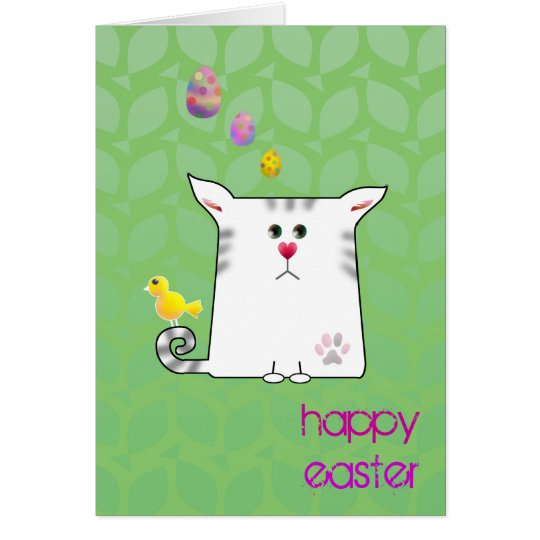 Customizable: Little Alfie Easter Card