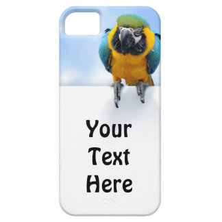 Customizable Macaw iPhone 5 Covers