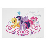 Customizable Magical Friends Poster