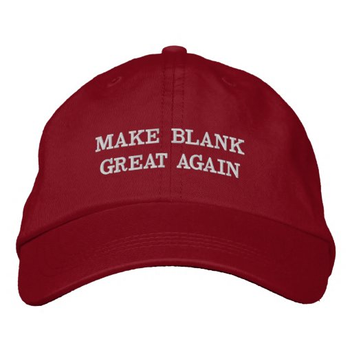 Customizable Make (Your Text) Great Again Hats  744a955cf3d6