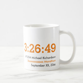 Customizable Marathon Runner Coffee Mug