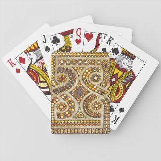 Customizable Medieval Mosaics Playing Cards