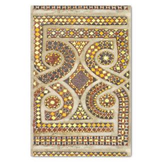Customizable Medieval Mosaics Tissue Paper