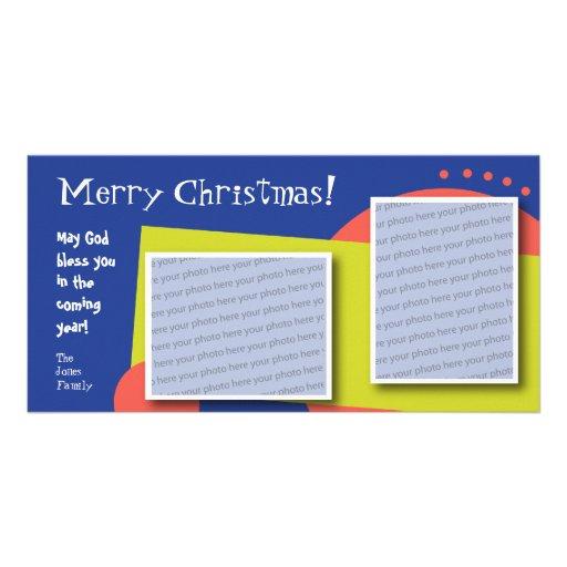 Customizable Merry Christmas Photo Card