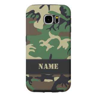 Customizable Military Camo Samsung Galaxy S6 Cases