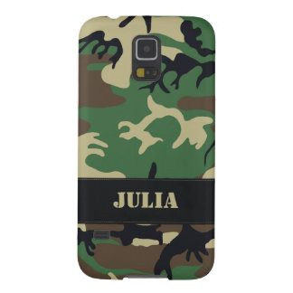 Customizable Military Camo Galaxy S5 Cases