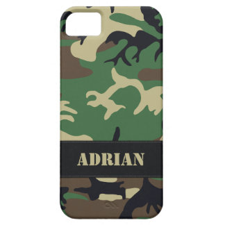 Customizable Military Camo Case For The iPhone 5
