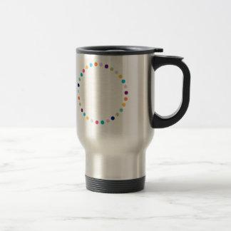 Customizable | Modern Dots Travel Mug