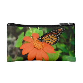 Customizable Monarch Butterfly Make-up Bag
