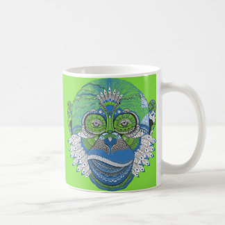 Customizable Monkey pattern coffee mug