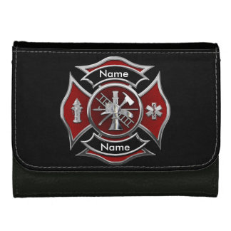 """CUSTOMIZABLE Monogram Firefighter"" Wallet"