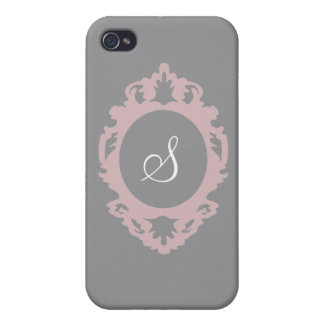 Customizable Monogram i Cover For iPhone 4