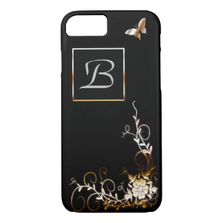 Customizable monogramed iPhone 7 case Barely There