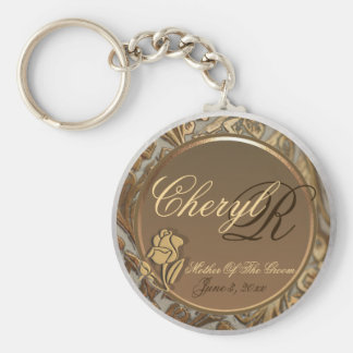 Customizable Mother Of The Groom Keepsake Keychain